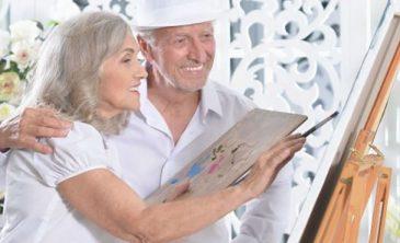Beneficios que aporta la pintura a las personas mayores