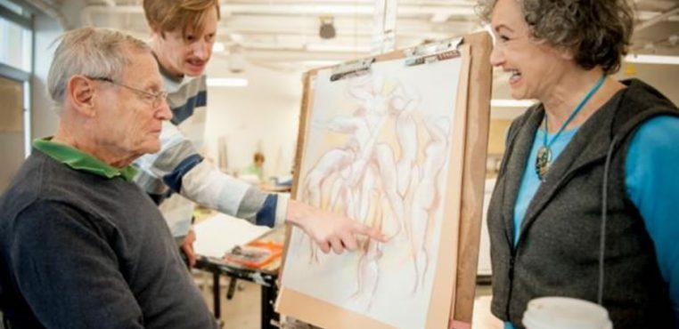 El arte mantiene al cerebro en forma